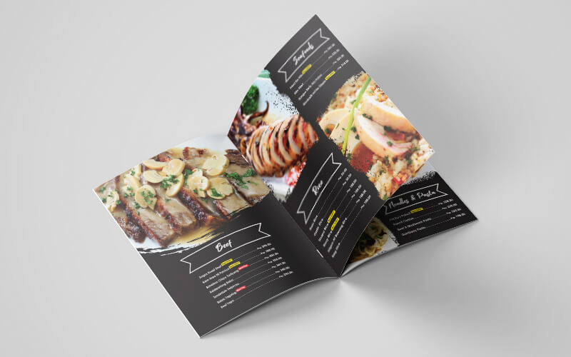 Food Menu Design Philippines