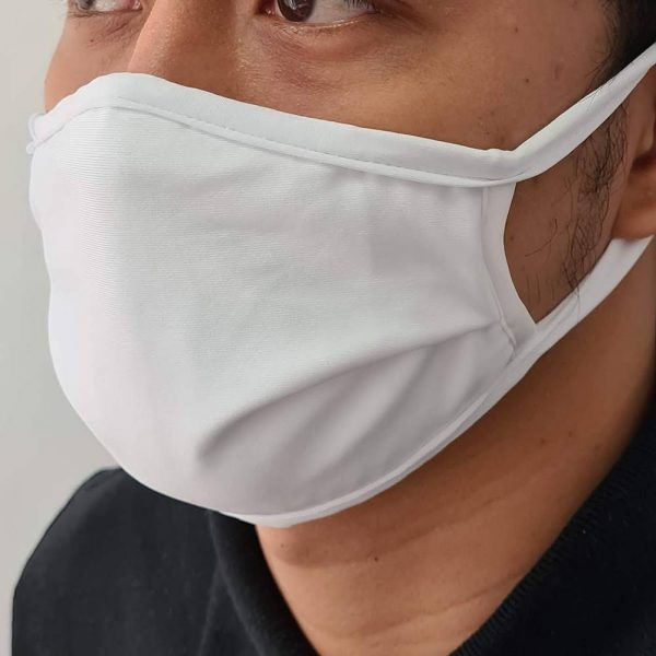 Cotton Spandex Face mask 1
