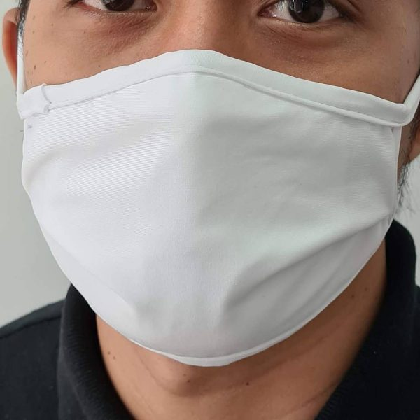 Cotton Spandex Face mask 2